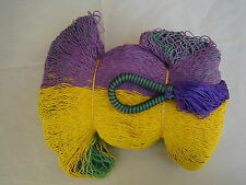 MAYAN HAMMOCK  2 Meters Wide - MULTICOLORED WOVEN - Holds 300Lbs+ FREE ROPES*#FW