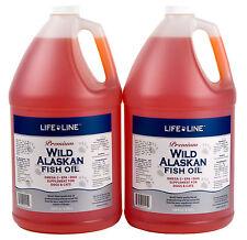 Wild Fish Oil 2 gals Fresh Premium Alaskan Omega 3 EFA (similar to Salmon Oil)