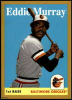 Eddie Murray 2019 Topps Archives 5x7 Gold #60 /10 Orioles