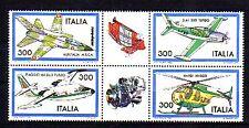 Italien Michelnummer 1790 - 1793  postfrisch ( Luftfahrt :18 )