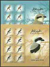 Qatar lot 31 = 2009 Birds 6 sheets  - Free track mail - best deal on ebay