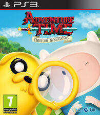 Adventure Time Finn & Jake Investigation PS3 Playstation 3 IT IMPORT NAMCO