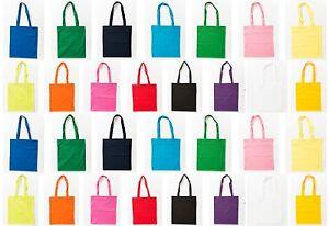 Jutebeutel farbig bunt lange Henkel Stofftasche Baumwolltasche Einkaufstasche