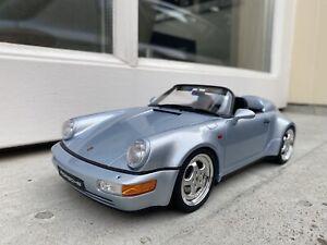 1:18 Porsche 911 (964) Speedster Turbo Look Silver GT Spirit GT200