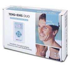 ✔ Prorelax 39263 TENS + EMS Duo, Elektrostimulationsgerät 2Therapien mit einem ✔