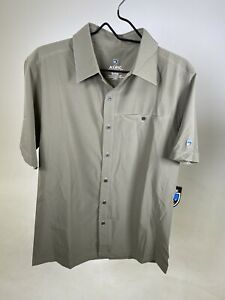 KUHL RENEGADE Short Sleeve Collar Shirt SMALL/MEDIUM Available - NEW WITH TAGS!