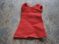Sindy doll clothes. 1978 red funtime sindy dress. Pedigree