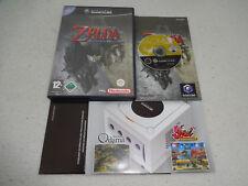 Zelda TWILIGHT PRINCESS GIOCO GAMECUBE COMPLETO DI SCATOLA ORIGINALE E ISTRUZIONI