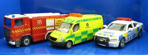 Siku 1821 New Zealand NZ Emergency Set IV - Fire Serive St Johns Police New 2021