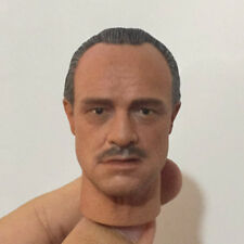 "1/6 Scale The Godfather Head Sculpt Fit for 12"" Action Figure Body"