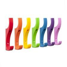 TOUGHOOK Unbreakable Plastic Safety Coat Hooks 10 Pack Range of Colours