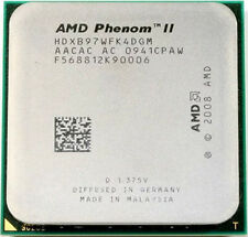 AMD Phenom II x4 B97 CPU HDXB97WFK4DGM 3.2GHz AM3 4-Core 6M Cache Tested