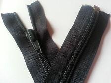 Navy Blue Open End Zip Zipper No7 43 inch 108 cm SLIK