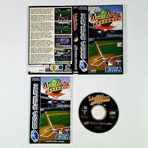©1995 SEGA Saturn WORLD SERIES BASEBALL Pal Sport/Major League/Mehrspieler/MLBPA