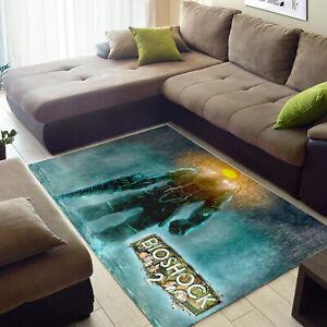 Big Daddy Rug, Bioshock, Area Rug, Video Game Plush Floor Rug, Carpet Room Doorm