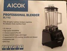 Licuadora Smoothie Maker aicok 1500W Licuadora Comercial con 32,000 Rpm De Alta Spee