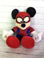 Disney Marvel Mickey Mouse as Spiderman Spider-Man Plush Stuffed Animal Doll Toy