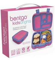 🔥Bentgo Kids Brights Leak-Proof 5-Compartment Bento-Style Kids Lunch Box Pink