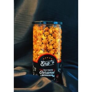 Eng's Caramel Popcorn fully coated premium Homemade snack in Malaysia 300gram