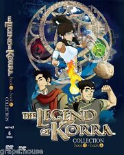 DVD Avatar Legend of Korra Book 1+2+3+4 Complete Collection English Version