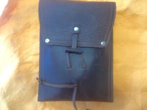 Saddleback Leather Draw String Pouch Featuring Papyrus Logo