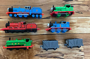 Lot 7 ERTL Thomas the Train Vintage Diecast James, Percy, Edward, W Awdry, Coal