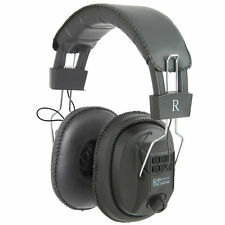 Full Size Mono / Stereo HI-FI Cushioned Headphone with Volume Control [007692]