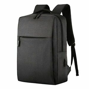 Backpack Anti-theft Rucksack Laptop Notebook Bag with USB Charger Travel &School