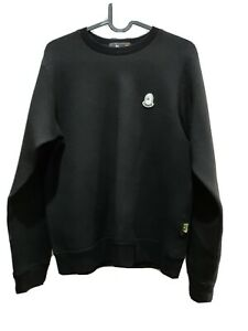 Authentic Mr. Bathing Ape Bape Double Knit Crew Sweat (Black Small)