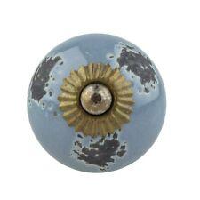 Möbelknöpfe Möbelgriffe Möbelknopf Porzellan Keramik Vintage Marmor/_13 R2-56