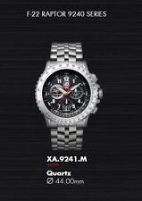 Luminox F-22 Raptor Chronograph 44mm 9241.M Mens Watch New w tags no box