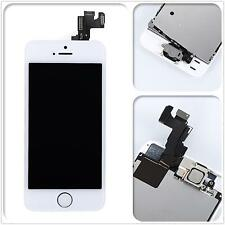For iPhone 5s White LCD Display Panel Touch Screen Digitizer Button Camera LKJH