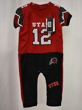 Fast Asleep Infant University of Utah Utes Football Pajama Set NWT 9-12  Months e01abdcac