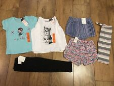 Girls Clothes Bundle 2-3 /3yrs- New - Shorts, Leggings & Tops - Mostly Baby Gap
