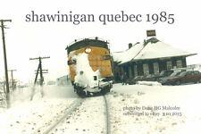 Canadian National Rwy  Snowplow 6531 Shawinigan Quebec 1985