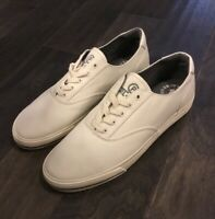 Polo Ralph Lauren Bring It Back CP93 Cream Canvas Boat Shoes New Men's 12