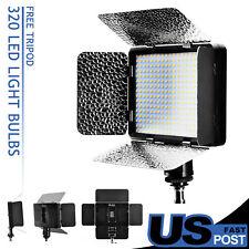 LED Camera Video Light Lamp 3200-5500K for Canon Nikon Camcorder DV DSLR