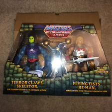 Masters of the Universe Classics TERROR CLAWS SKELETOR & FLYING FISTS HE-MAN New