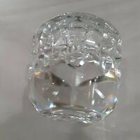 Kosta  Warff - Hand Blown Crystal Glass Candle Holder (Signed & #'D)