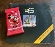 1971 The Story of Walt Disney World Commemorative Ed Book & Pencil Case