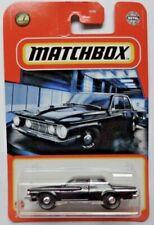 2021 Matchbox 1962 Plymouth Savoy Black 12/100 Die-cast New