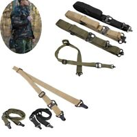 Adjustable Tactics Bungee Rifle Gun Sling Strap Belt Military Rope for Hunting