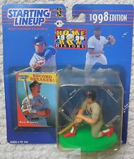 STARTING LINEUP Mark Mcgwire Mosc New 1998 Home Run Records Figure KENNER