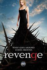 Revenge (2011) Season 1 ABC TV Poster (24x36) - Madeleine Stowe, Emily VanCamp