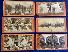 Lot of 6 Anthony Stereoviews of Yosemite