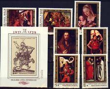 Ungarn 3326/32 Block 136 Dürer postfrisch