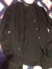 XL greys anatomy lab coat Black. Good Condition