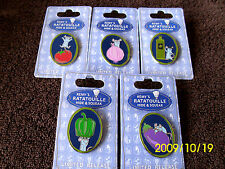 Disney * REMY - HIDE & SQUEAK 5 PIN SET - RATATOUILLE * 5 Character Trading Pins