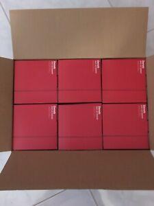 6 PC RED PANTONE Deneb Drop Cap Pendant Hanging Light Fixtures Factory Case