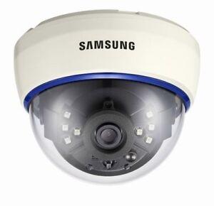 "SAMSUNG SIR-60 1/3"" 580TVL DAY & NIGHT IR LED DOME CCTV CAMERA 3.6MM FIXED LENS"